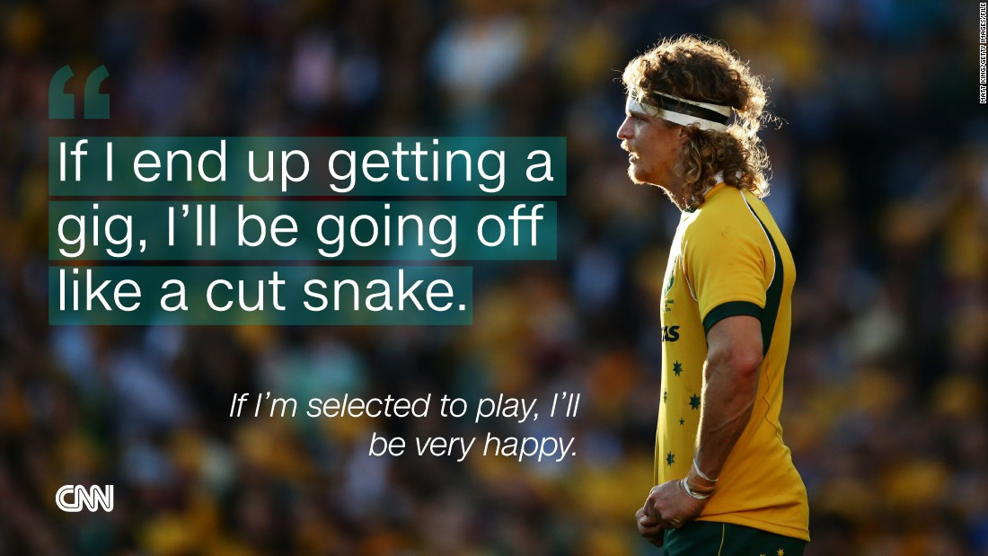 "Cummins was shocked to learn he'd been <a href=""http://en.espn.co.uk/australia/rugby/story/183089.html"" target=""_blank"">picked for the Wallabies team </a>to play the touring British and Irish Lions in 2013."