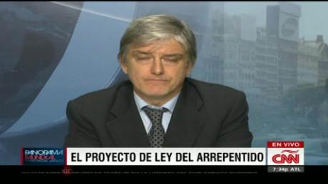cnnee panorama entrevista hugo wortman ley arrepentido_00042603