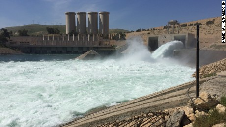 Protecting the Mosul Dam