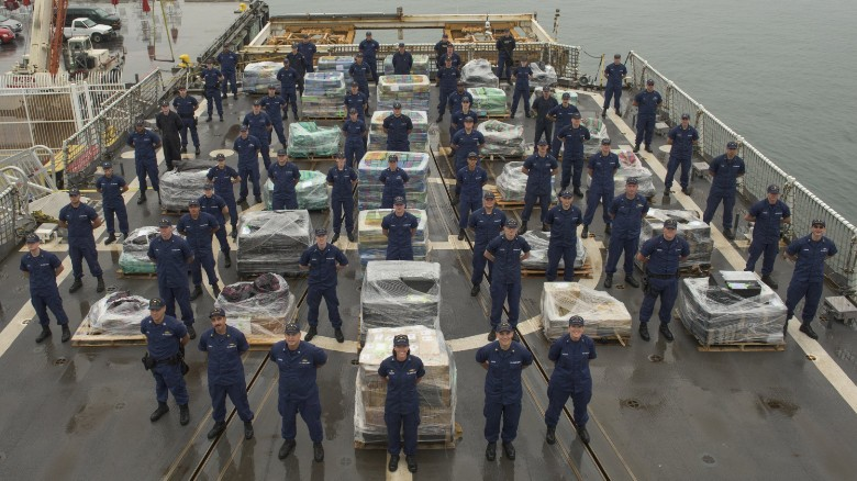 More than 10 tons of cocaine on San Diego pier