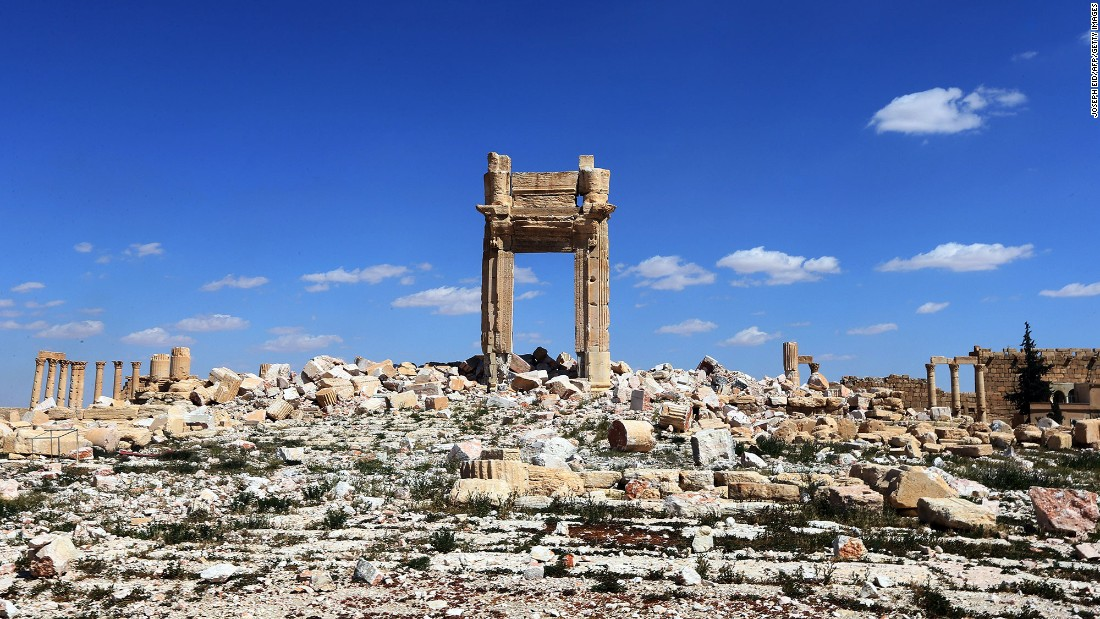 "In May 2015, ISIS took control of Palmyra, Syria, and <a href=""http://www.cnn.com/2015/05/15/middleeast/gallery/palmyra-ruins-syria/index.html"" target=""_blank"">began to destroy ancient ruins and artifacts.</a> The Temple of Bel is seen here after Syrian forces reclaimed the city in March 2016. ISIS has also <a href=""http://www.cnn.com/2015/03/09/world/iraq-isis-heritage/"" target=""_blank"">destroyed other cultural sites</a> in Syria and Iraq."