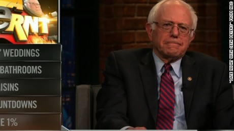 Bernie Sanders on Late Night with Seth Meyers