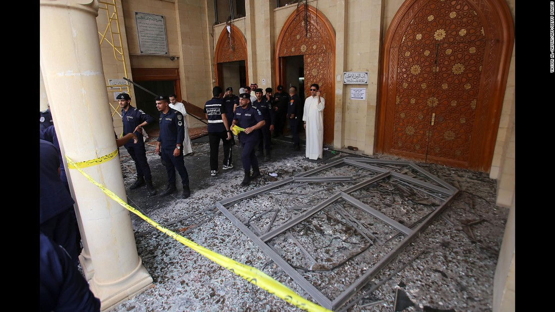 "ISIS also claimed responsibility for what it called a suicide bombing <a href=""http://www.cnn.com/2015/06/26/world/kuwait-mosque-attack/"" target=""_blank"">at the Al-Sadiq mosque</a> in Kuwait City on June 26, 2015. At least 27 people were killed and at least 227 were wounded, state media reported at the time. The bombing came on the same day as the attack on the Tunisian beach."