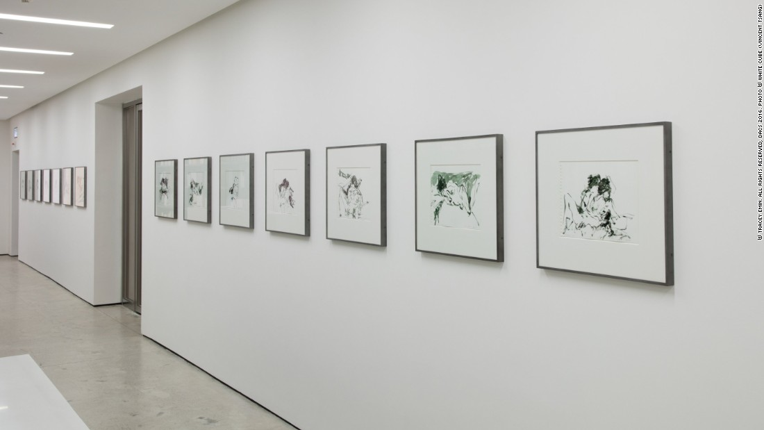Tracey Emin, 'I Cried Because I Love You', White Cube Hong Kong, 21 March - 21 May 2016, © Tracey Emin. All rights reserved, DACS 2016. Photo © White Cube (Vincent Tsang)
