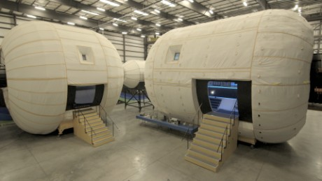 Way Up There space series Where will we live? Space Hab Exteriors