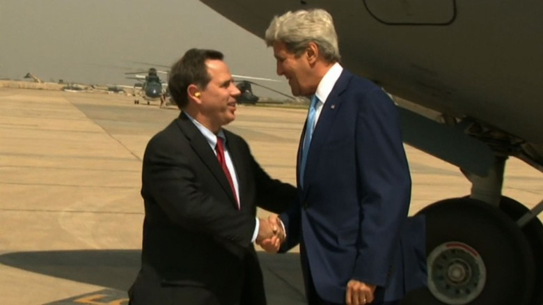 Kerry in Baghdad to shore up fight against ISIS