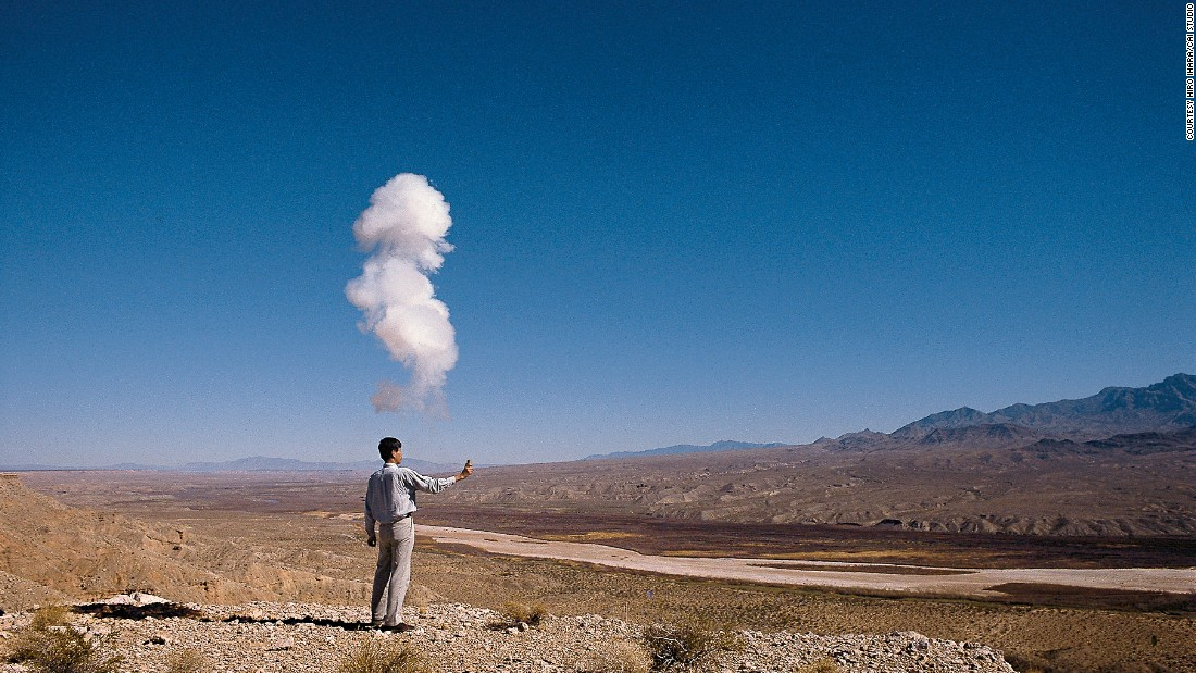 """""""The Century with Mushroom Clouds: Project for the 20th Century"""" Nevada, 1996."""