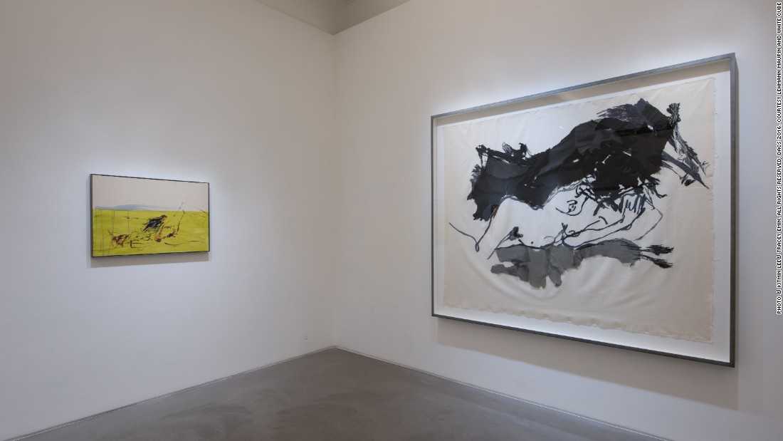 TRACEY EMIN: <em>I Cried Because I Love You, </em>Installation view, Lehmann Maupin, Hong Kong, March 21 -- May 21, 2016, Courtesy Lehmann Maupin and White Cube<br />