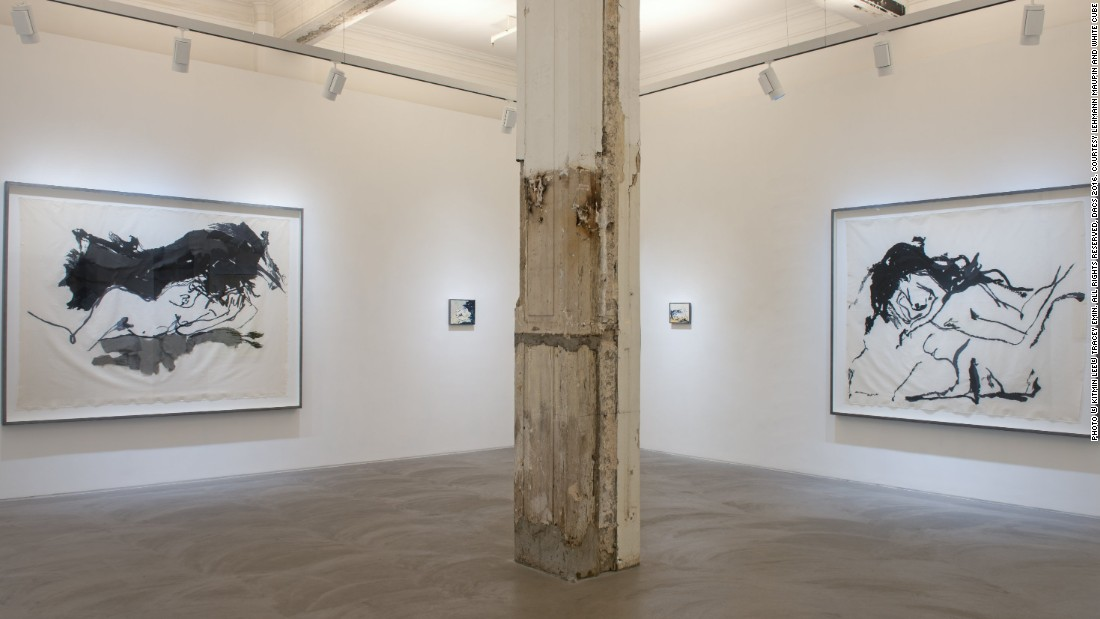 TRACEY EMIN: <em>I Cried Because I Love You, </em>Installation view, Lehmann Maupin, Hong Kong, March 21 -- May 21, 2016, Courtesy Lehmann Maupin and White Cube
