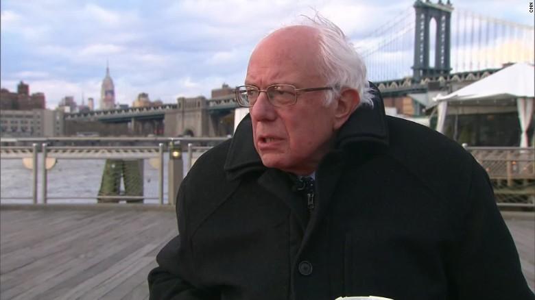 Bernie Sanders dismisses Bill Clinton sexist accusation