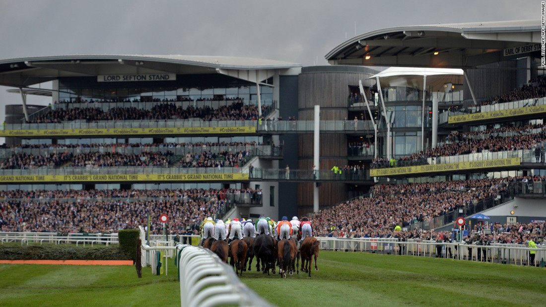 The 75,000 capacity racecourse was also packed with fans keen to have a flutter on the outcome of the 169th version of the annual race.