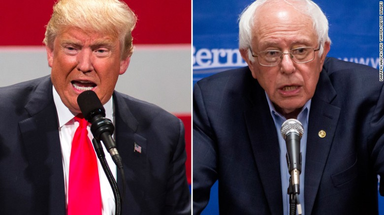 Donald Trump: 'I'd love to debate Bernie Sanders'