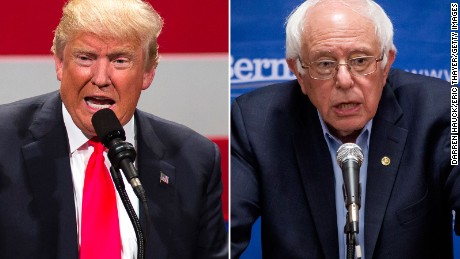 Donald Trump agrees to debate Bernie Sanders
