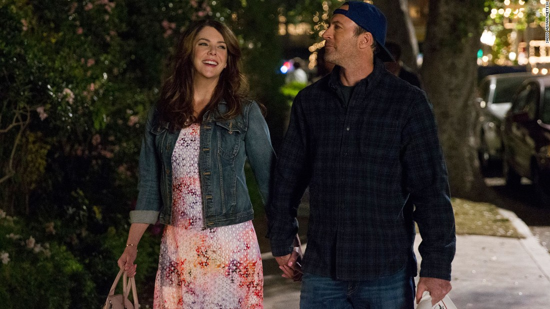 This gives us hope that Lorelai and Luke Danes (Scott Patterson) are still very much in love.