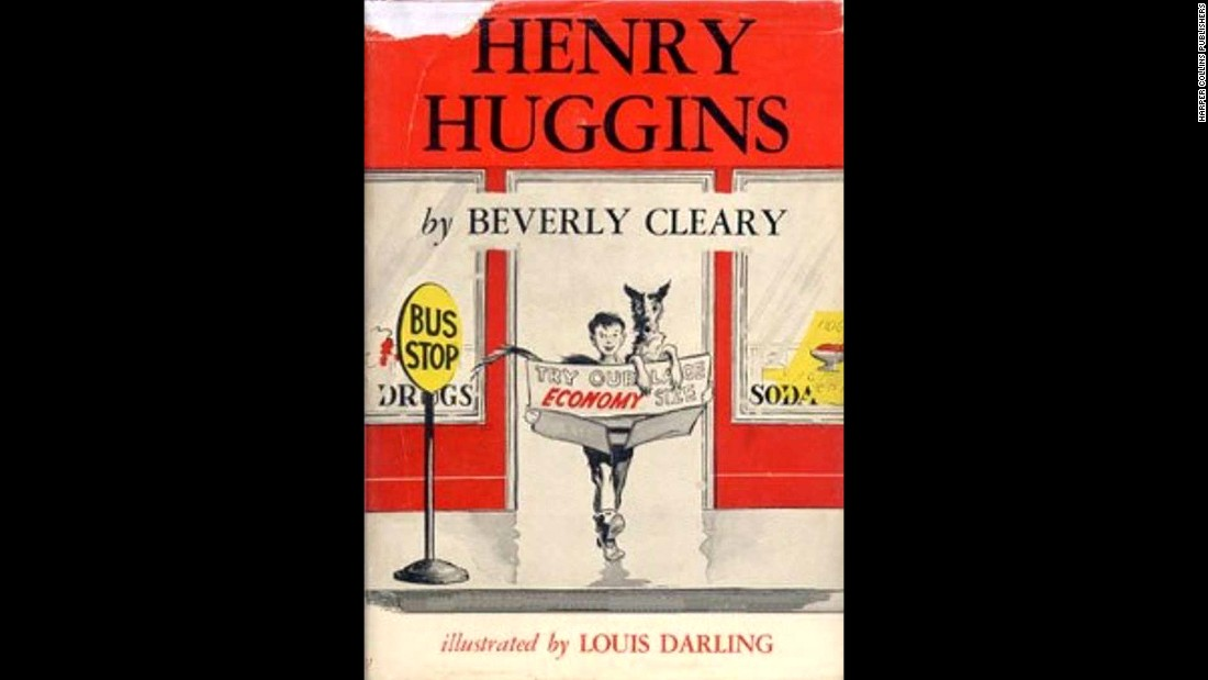 "Beverly Cleary's first book, ""Henry Huggins,"" was published in 1950 and quickly became a hit. Click through to see early-edition covers of other Cleary hits."