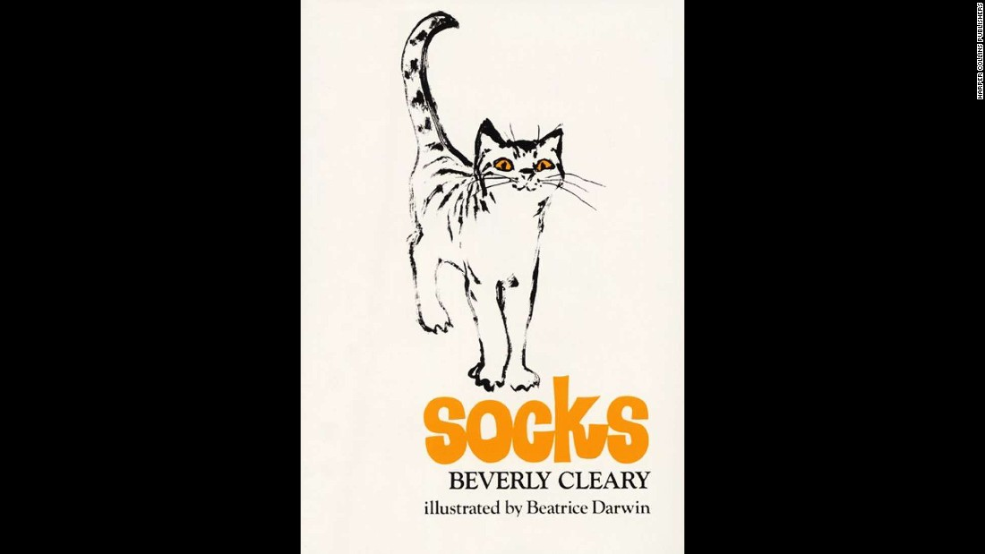 "A cat named Socks has all the love he needs from his owners, the Brickers, until a new baby enters his life in 1973's ""Socks."" Now, he must share their attention with baby Charles William, and he starts getting into lots of scrapes to get more attention."