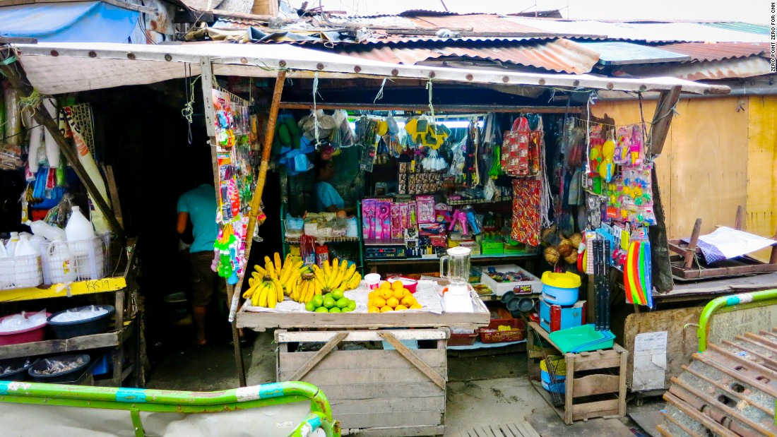 In Pasay City, almost anything you need is available from street vendors. Some of the Philippines' unique mix of East and West reflects the country's history as a Spanish colony.