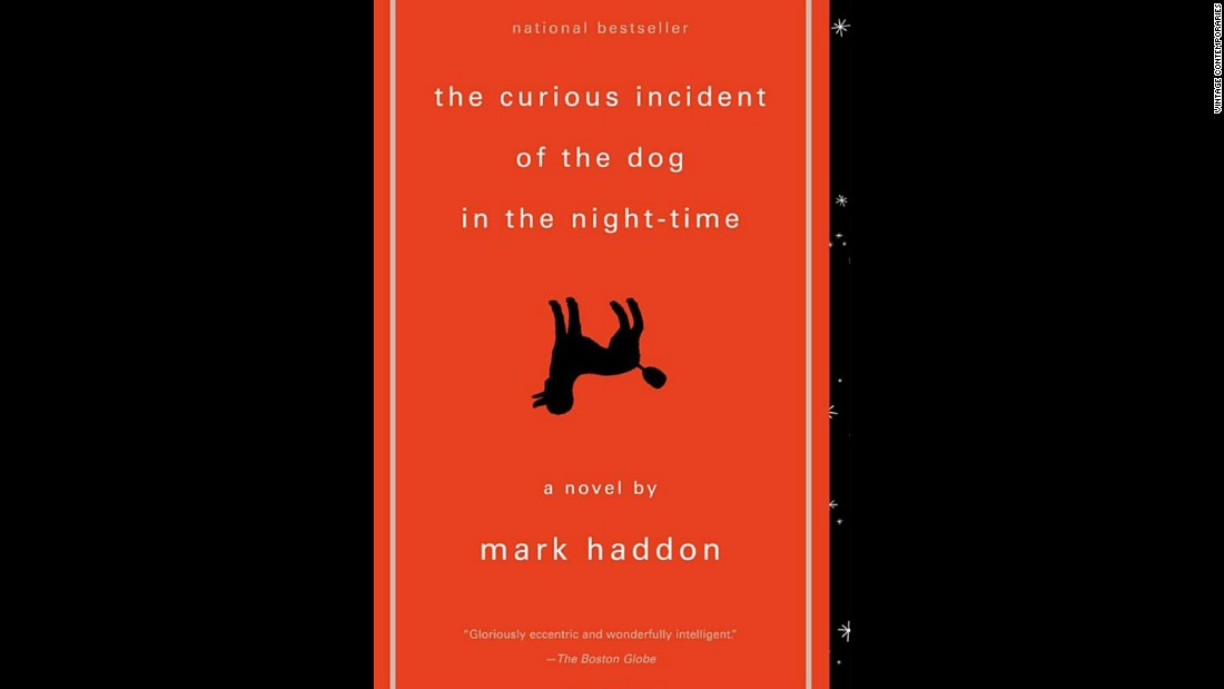 "Mark Haddon's 2003 best-seller, ""The Curious Incident of the Dog in the Night-Time,"" is told from the point of view of a teenager with autism. It was challenged for its language and suitability for its age group."