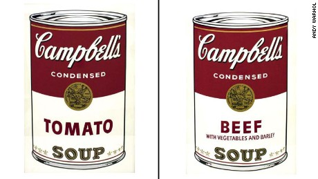 Seven of 10 Andy Warhol paintings on permanent display at the Springfield Art Museum were taken.