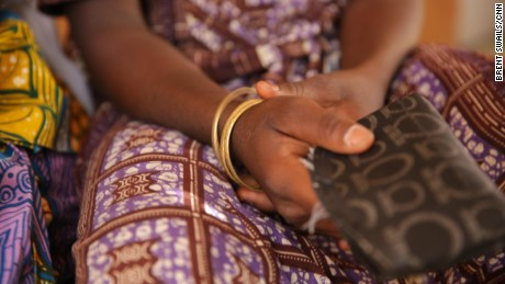 Fati's gold bracelets are a gift from her mother, her only connection to home after she was kidnapped.