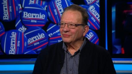 Fred Pleitgen interview with Larry Sanders, brother of Bernie Sanders.