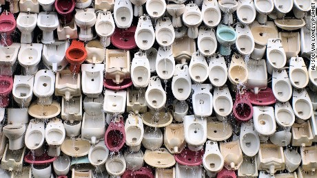 Fountain of Toilets, Foshan, China