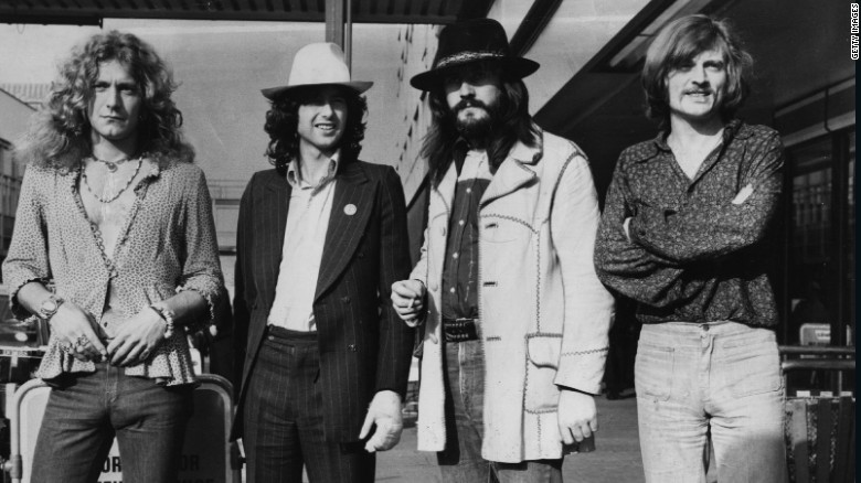 Led Zeppelin headed to court