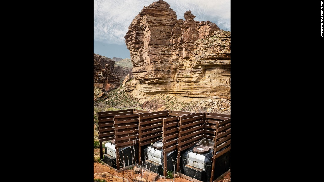 "The towering walls of the Grand Canyon failed to inspire the people who built these privacy-lite campsite toilets. (Picture credit: <a href=""https://500px.com/"" target=""_blank"">500px</a>)"