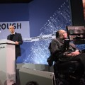 Yuri Milner and Stephen Hawking