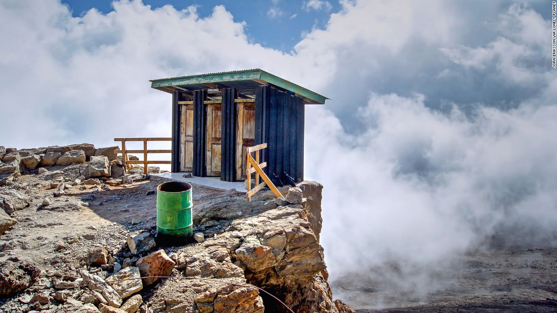 "Losing anything down the toilet is bad news. More so when it leads to a 4,600-meter drop off the side of Mount Kilimanjaro. (Picture credit: <a href=""https://500px.com/"" target=""_blank"">500px</a>)"
