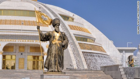 Presidential playground: Ashgabat, the marble city
