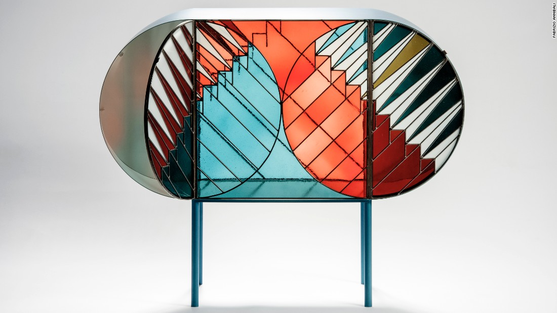 "What do you get when a furniture designer and a graphic designer collaborate? The most incredible collection of graphic furnishings you could imaging.<br /><br />Designed for Milan boutique <a href=""http://www.spaziopontaccio.com/"" target=""_blank"">Spazio Pontaccio</a>, the Credenza collection by <a href=""http://www.patriciaurquiola.com/"" target=""_blank"">Patricia Urquiola</a> and graphic artist <a href=""http://www.ledictateur.com/"" target=""_blank"">Federico Pepe</a> aims to create a presence and define space in a room. <br /><br />Composed of small furniture containers, carpets, screens and low tables, the collection takes inspiration from stained glass windows and graphic art. Each piece is produced by hand, and you can't get any more luxurious than that!"