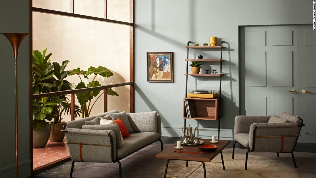 "Taking inspiration from the simple valet and its roots, David Rockwell of <a href=""http://www.rockwellgroup.com/"" target=""_blank"">Rockwell Group</a> reinterpreted it for the modern homeowner. <br /><br />Instead of using the valet for fashion, Rockwell created furniture that feels both utilitarian and luxurious. The collection is composed of 14 pieces with incredible details made from full-grain saddle leather, American walnut, black steel, and brushed brass."