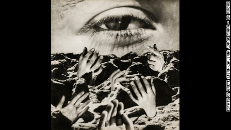 """The Eternal Eye"", Grete Stern (circa 1950)."