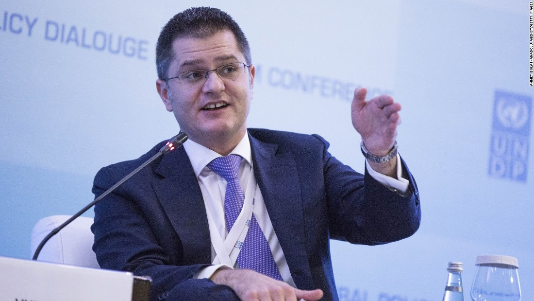 "Vuk Jeremic, Serbia's former foreign minister, is no stranger to the United Nations. He served as the U.N. General Assembly president from 2012 to 2013. He called the secretary-general candidacy ""a great honor"" Tuesday."