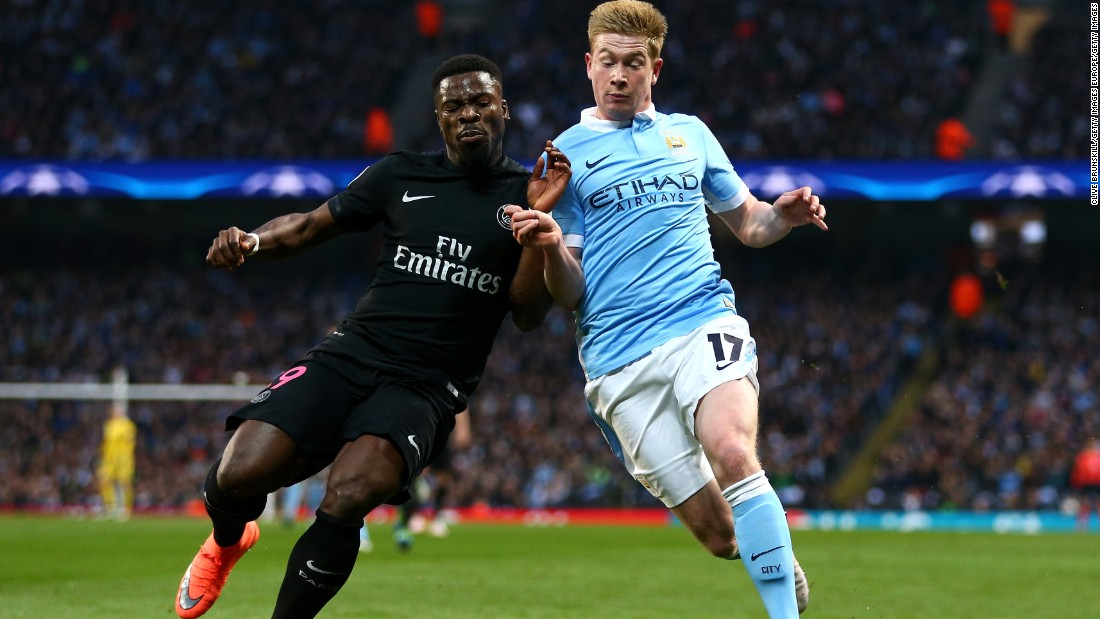 Late on, Belgium's Kevin de Bruyne scored to take Manchester City into its first ever Champions League semifinal.