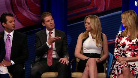 Ivanka and Eric Trump, not registered to vote in Primary