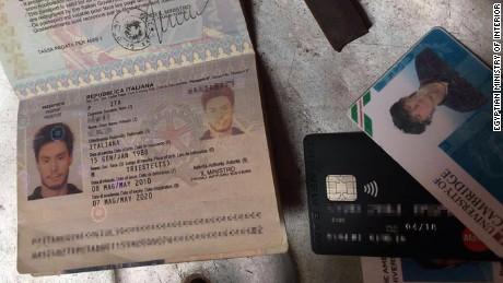 Police said they found Giulio Regeni's passport at the home of Rasha Tarek's aunt.