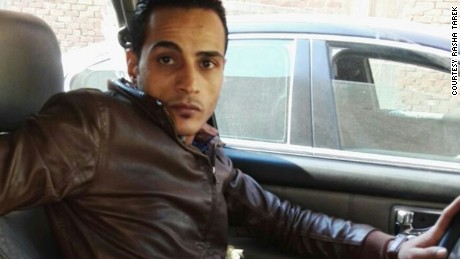 Saad Tarek answered a call from his sister as her husband was being killed, she believes