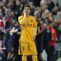 Messi sad