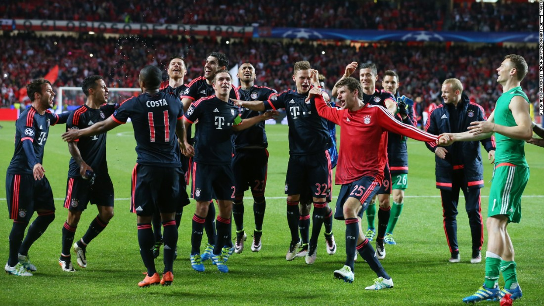 To set up that intriguing contest, Guardiola's Bayern side will have to reach the final first.