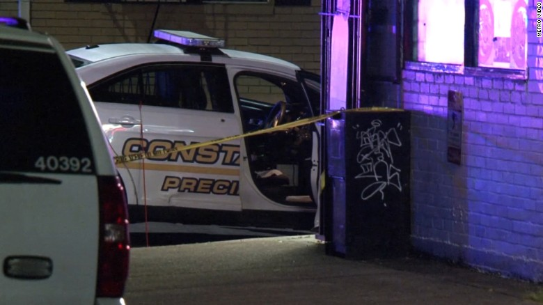 Officials: Texas deputy shot 4 times in ambush attack