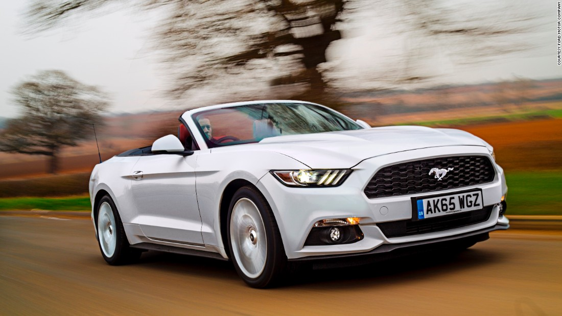 ford mustang muscles into the british car market. Black Bedroom Furniture Sets. Home Design Ideas