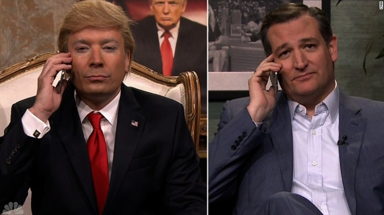 Cruz takes call from 'Donald Trump'
