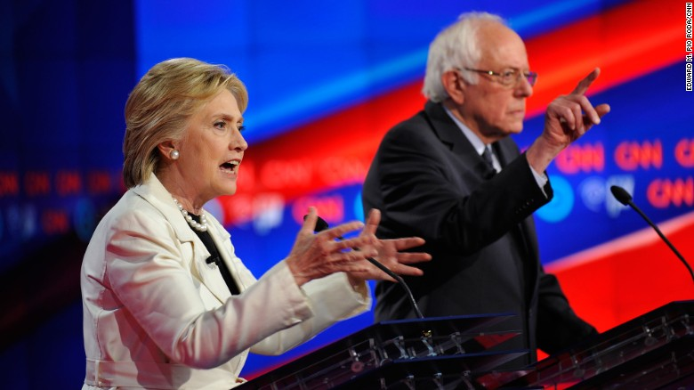 Clinton-Sanders clash shows deep divisions