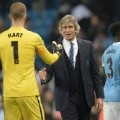 Pellegrini Hart Champions League Man city