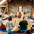 Vedic Silence Retreat in Austria yoga