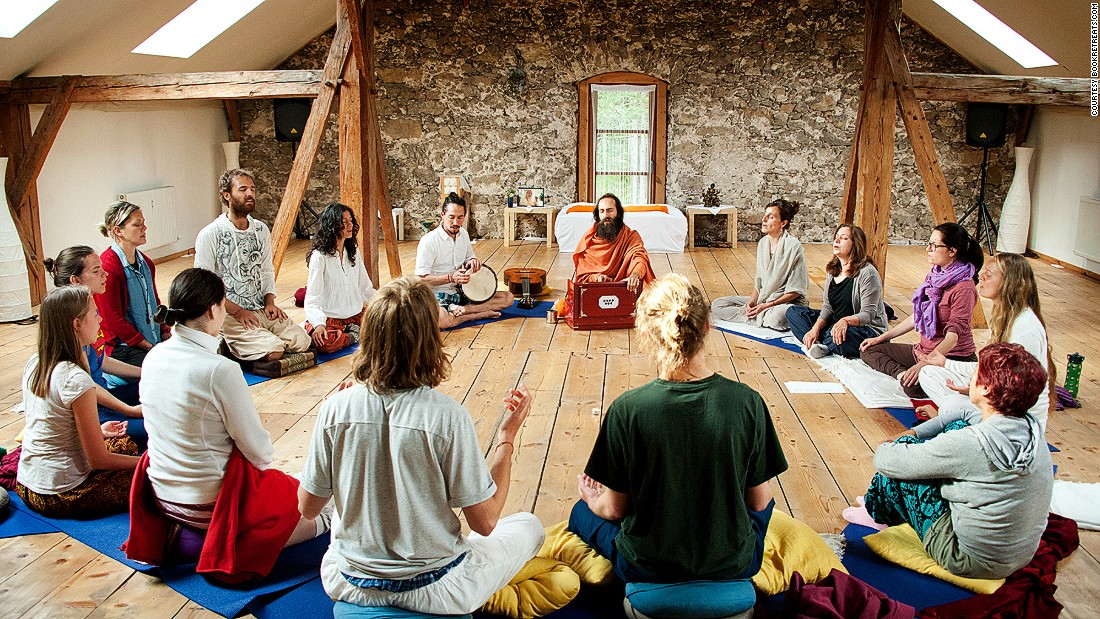 "At <a href=""http://www.alpenretreat.com/"" target=""_blank"">Alpen Retreat</a>, guests practice a form of yoga known as Vedic in complete silence. The teacher, Om Baba, himself spent five years in silence before going into teaching -- clearly a devotee of his craft."