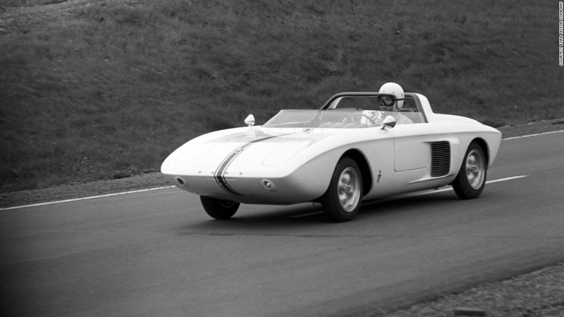 In 1960 Ford boss Lee lacocca had a vision for an American-made sporty four-seater for less than $2,500. This 1962 was an early attempt.