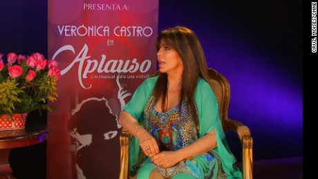 Interview with Mexican actress Veronica Castro